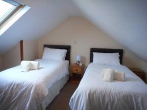 Attic Bedroom Rainbow Cottage