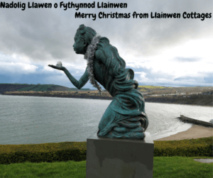Merry Christmas from Llainwen Cottages, Ceredigion